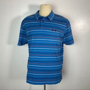 Oakley Polo Short Sleeve Button Summer Golf
